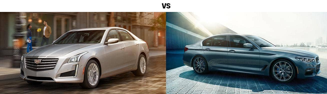 2019 CADILLAC CTS VS. 2019 BMW 5 SERIES