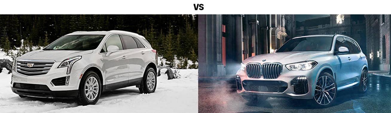 2019 CADILLAC XT5 VS. BMW X5
