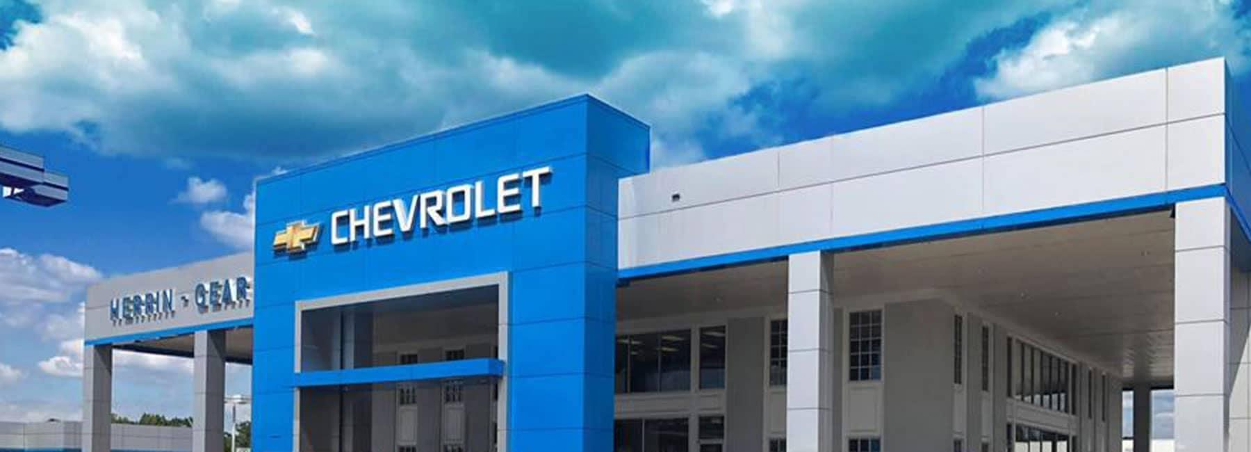 Herrin-Gear Chevrolet Storefront