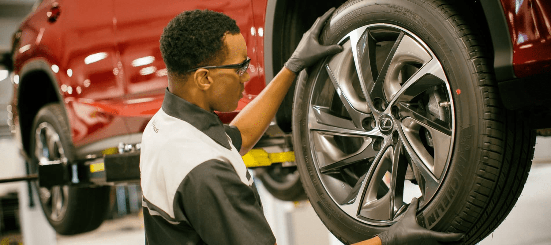 Lexus Tire Replace