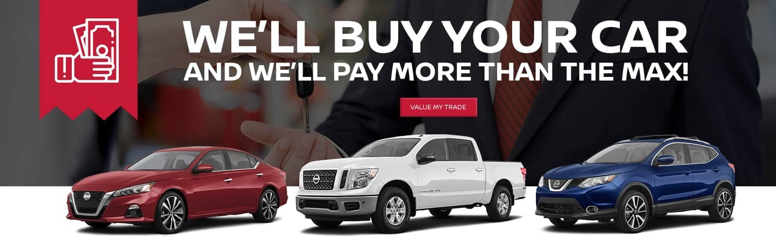 We Will Buy Your Car Banner