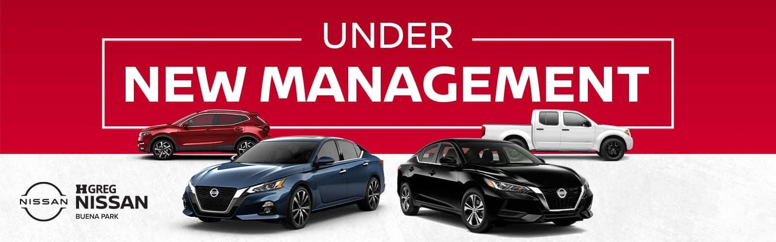 under new management banner