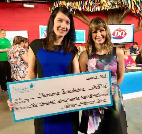 janeway foundation check of 10 grands