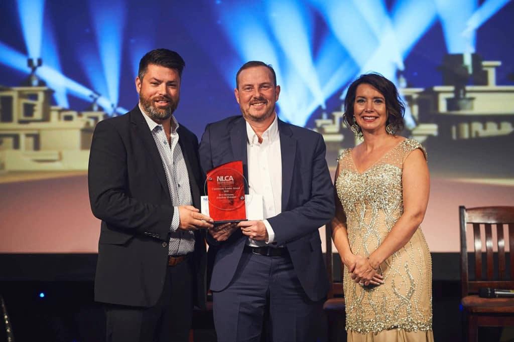 leader award winner