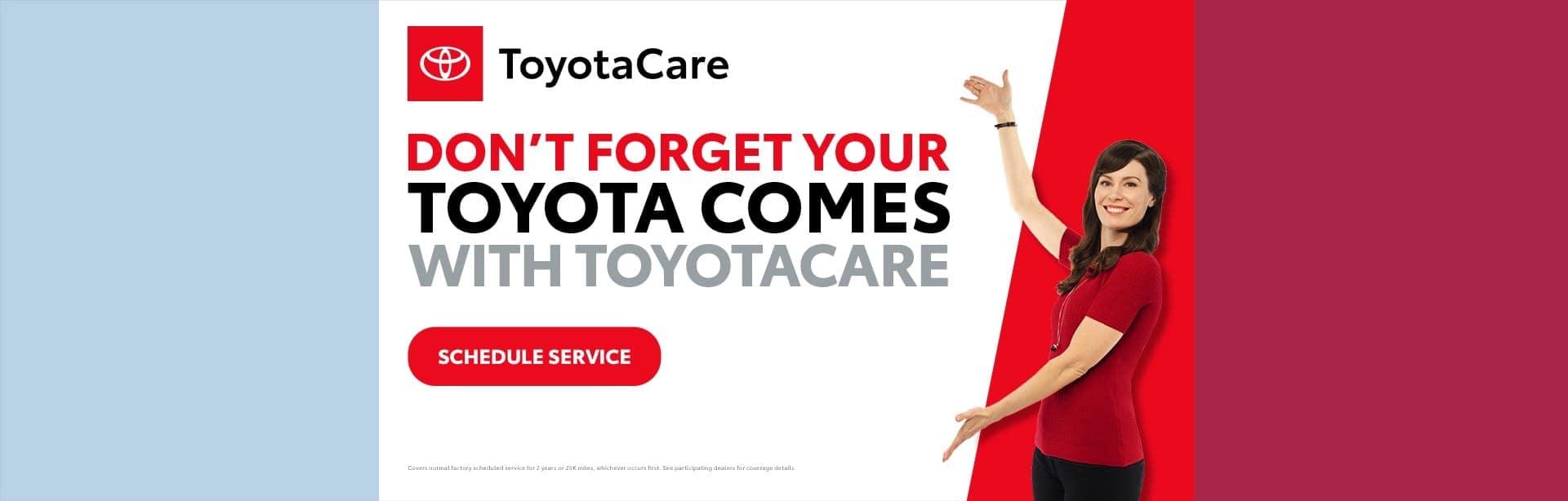 ToyotaCare Banner