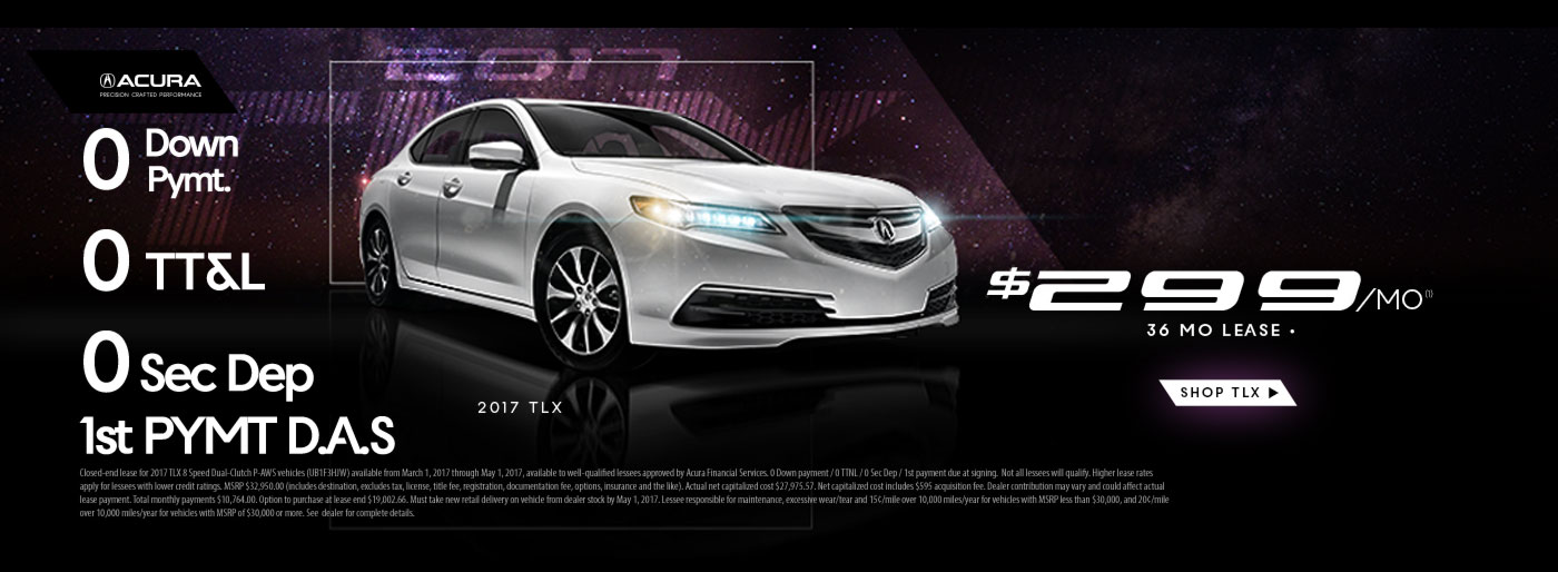 ILX 0 Down Offer