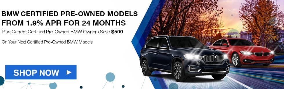 BMW Certified Pre-Owned Models