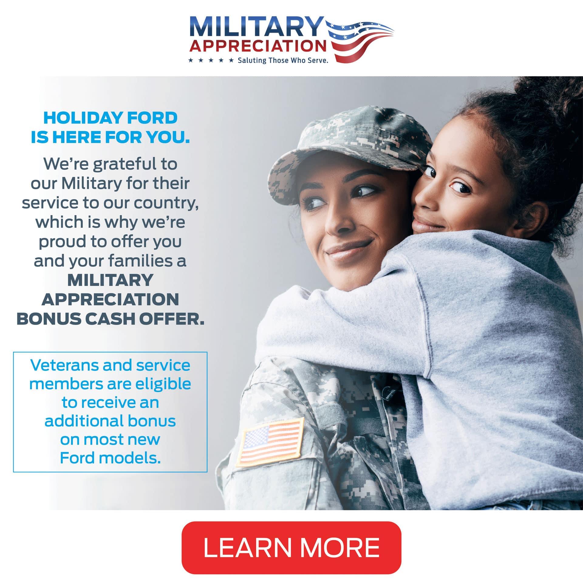 Ford Military Appreciation Program