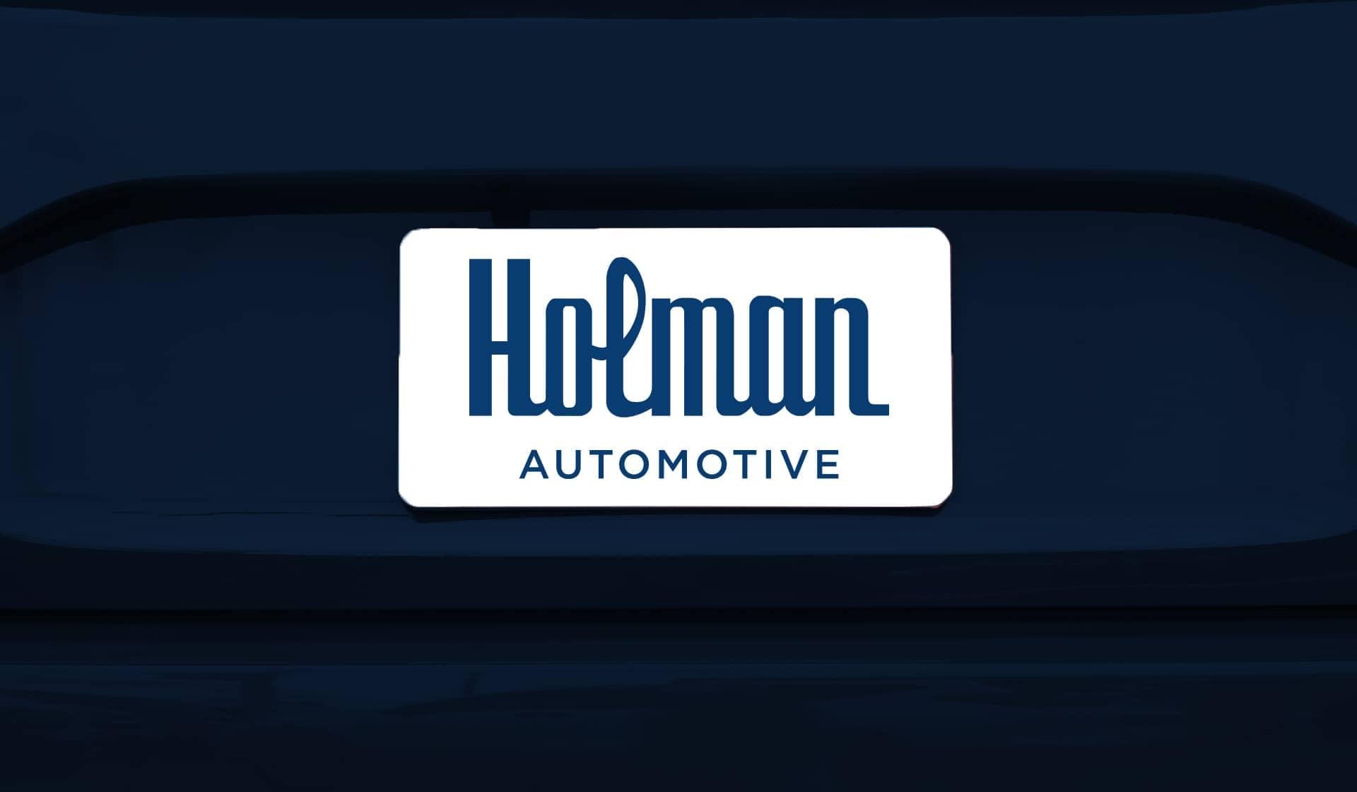 Holman license plate