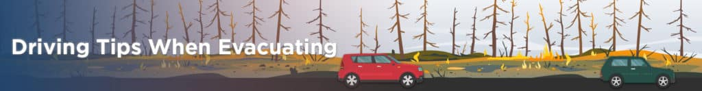 Driving Tips When Evacuating