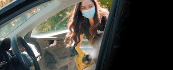 Sanitization of vehicle