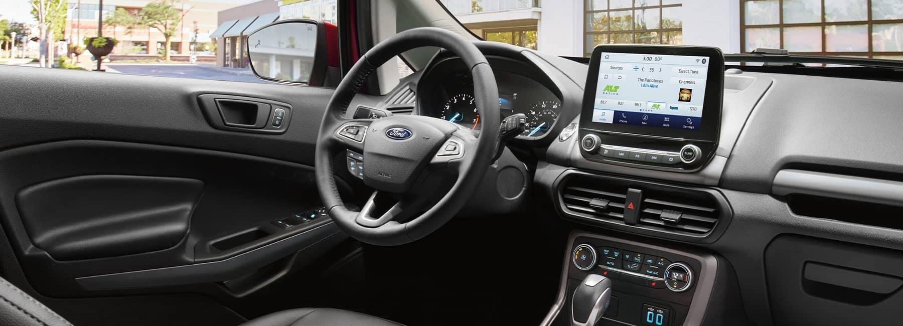 2021 Ford Ecosport interior dashboard