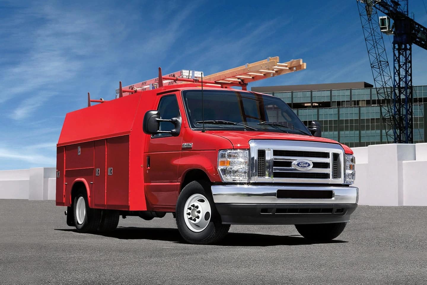Super duty Ford construction truck