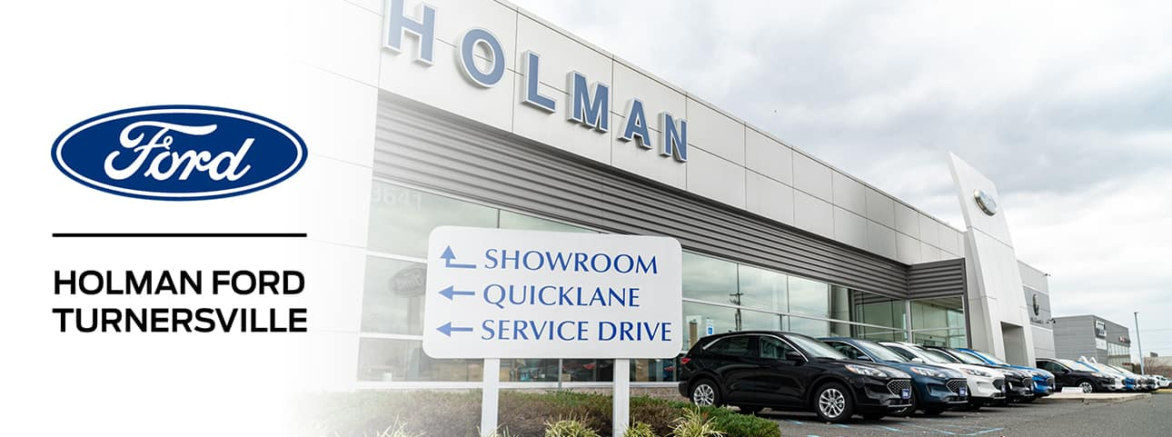 exterior view of Holman Ford Turnersville