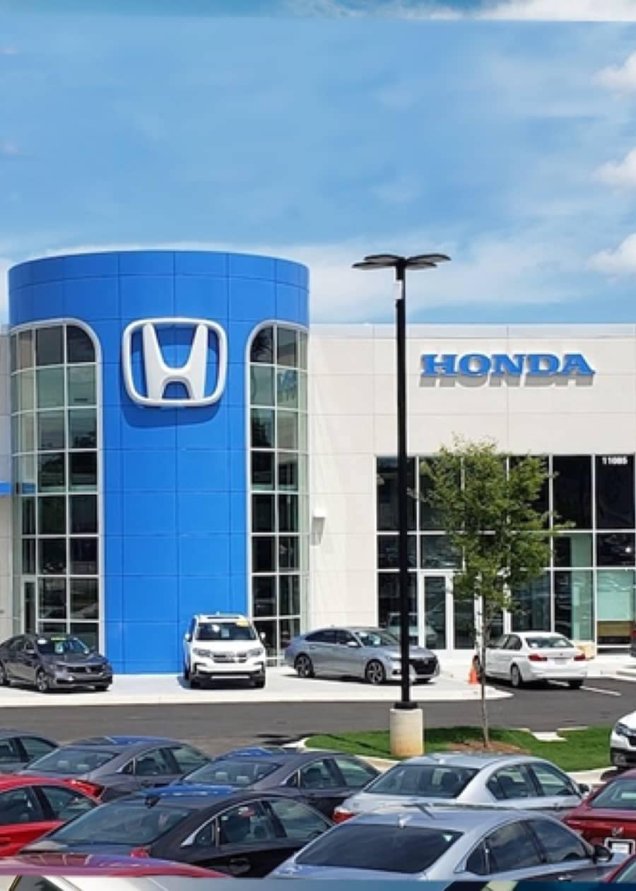 exterior shot of Carland Honda