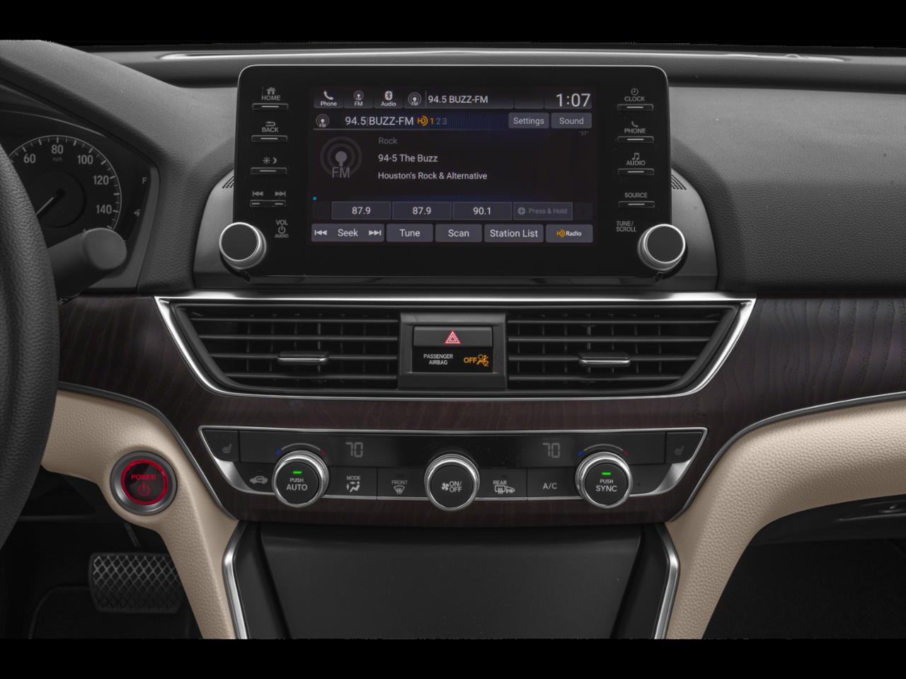 2019 Honda Accord Hybrid EX Sedan Inside 1