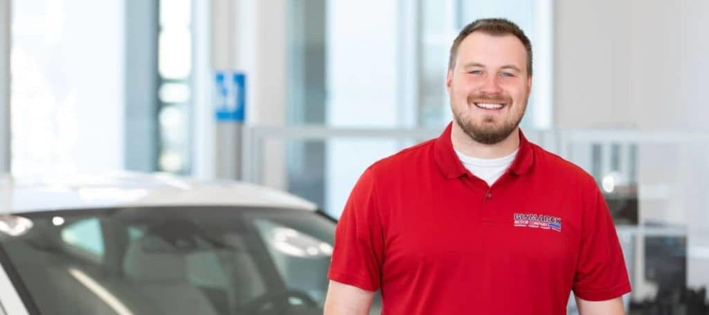 man from dealership