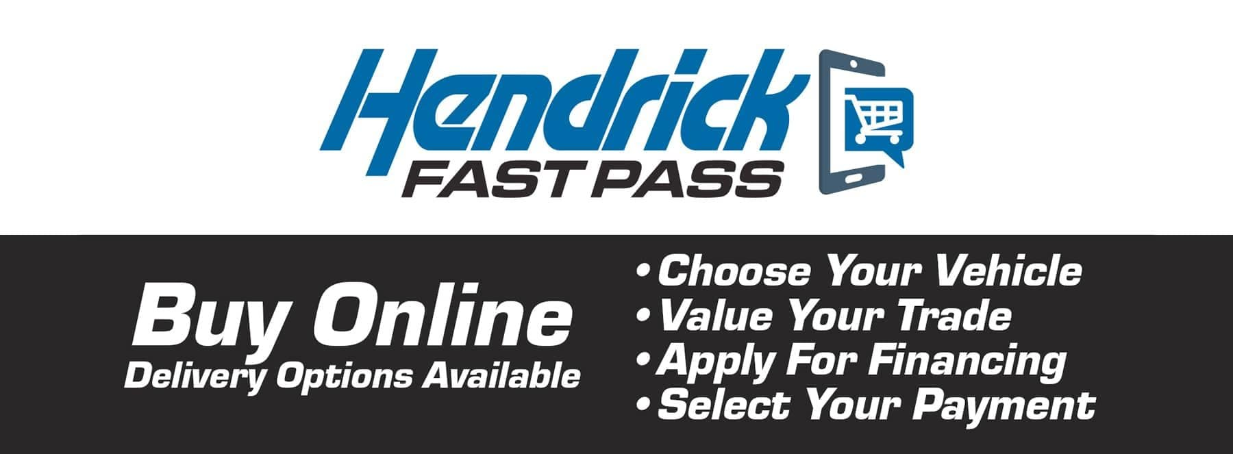 Hendricks Fast Pass - Buy Online Delivery Options Available
