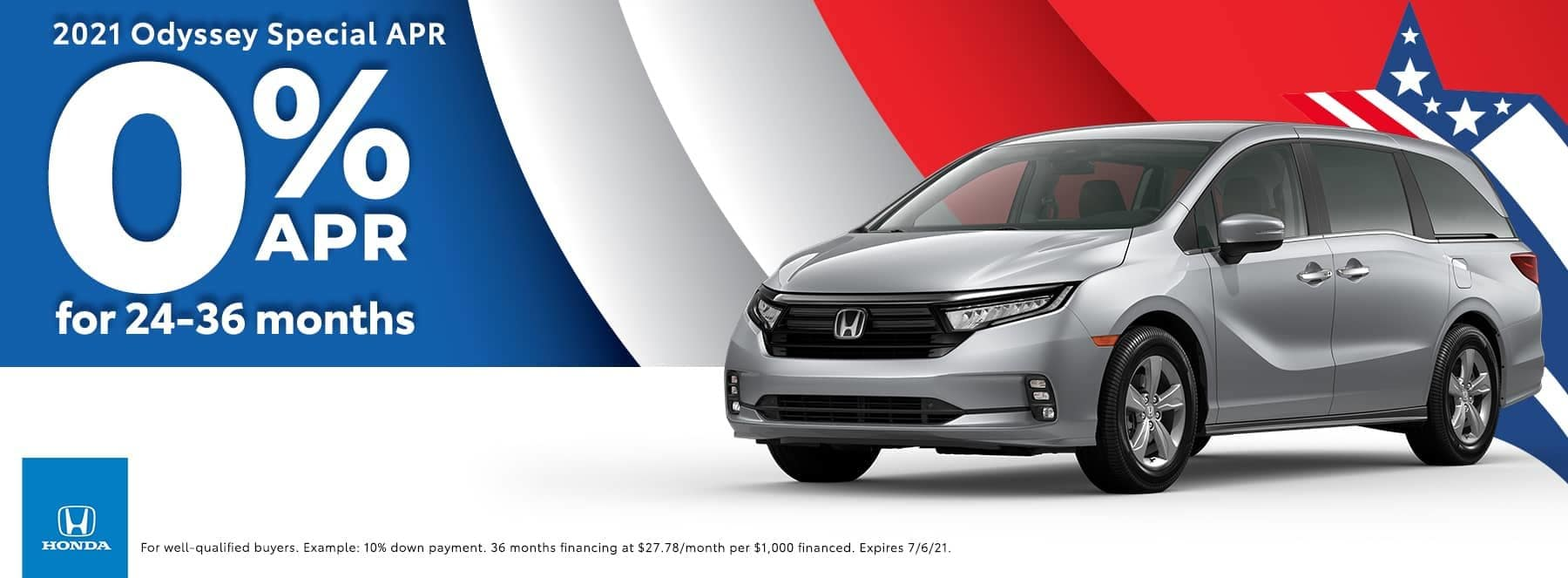 Honda of Newnan - 2021 Odyssey Special - 0% APR for 24-36 months