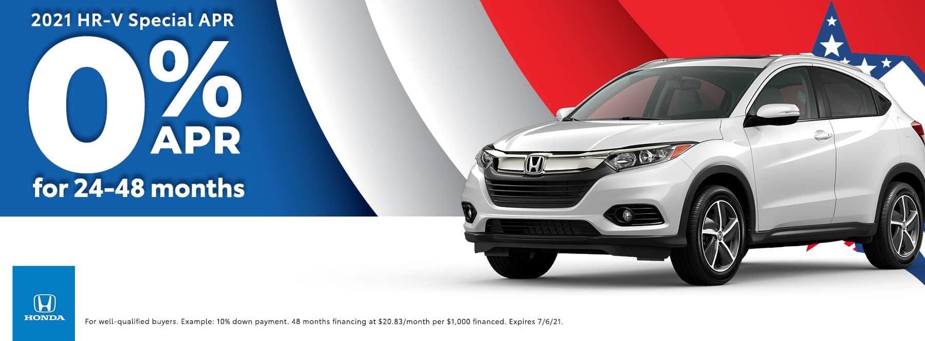 Honda of Newnan - 2021 HR-V Special - 0% APR for 24-48 months