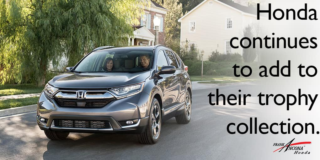 2017 CR-V Receives Safety Recognition