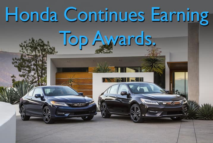 Kelley Blue Book Praises 2017 Honda Lineup