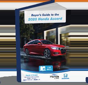 Buyers Guide 2020 Honda Accord eBook CTA