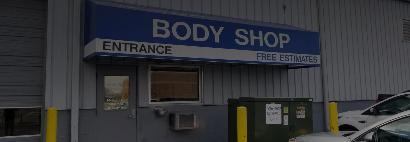 Front of Body & Paint Center