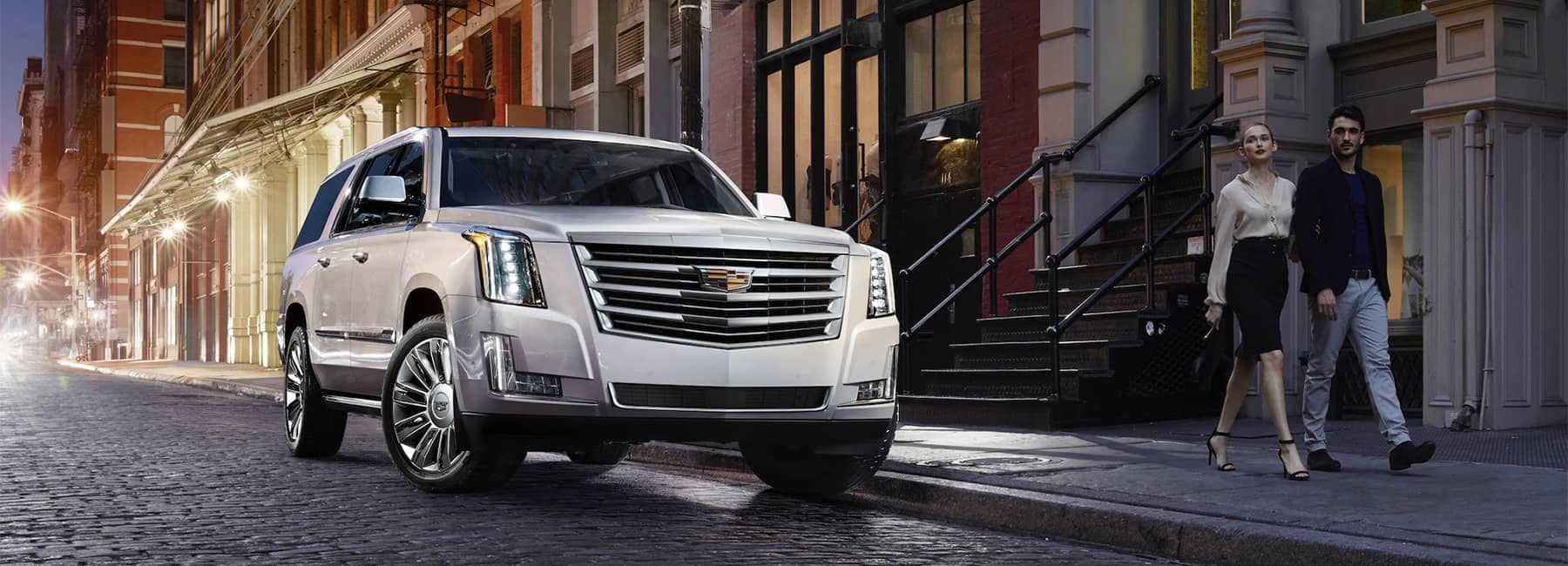2020-Cadillac-Escalade-Full-Size-SUV-Front-Exterior-Parked