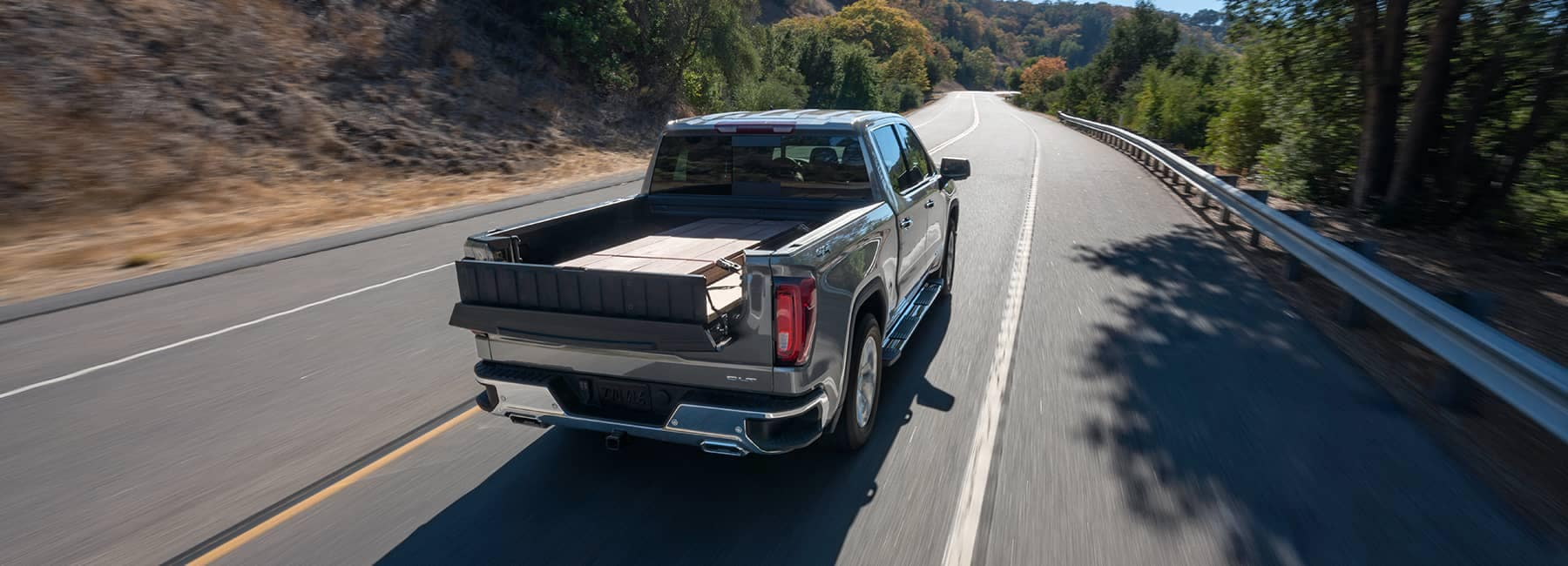 2020 GMC Sierra 1500 on the Road