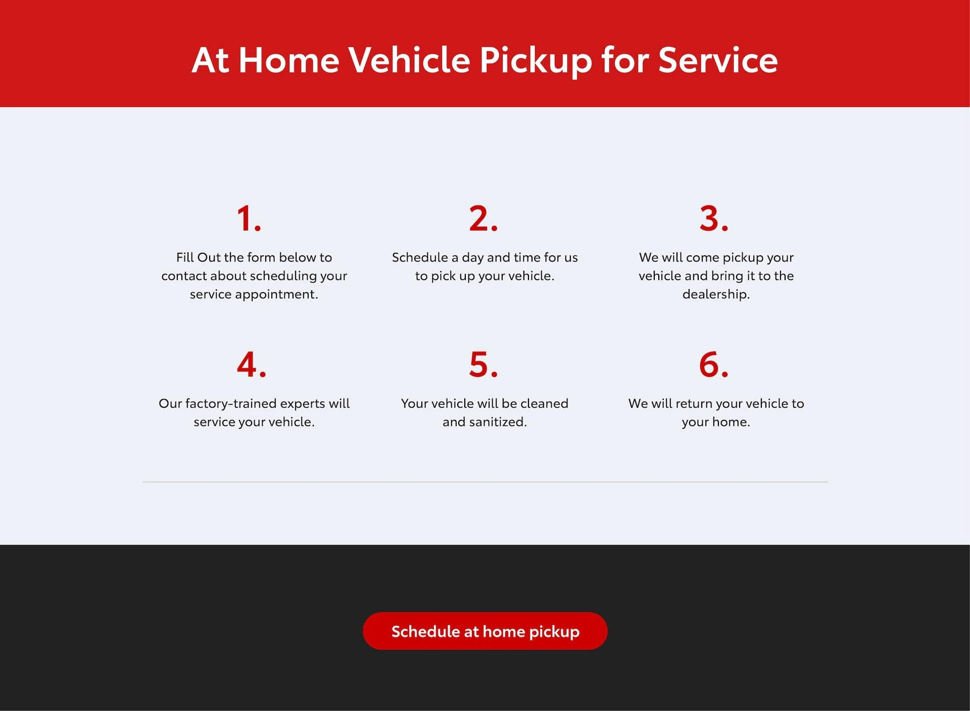 At Home Services banner 2