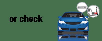 Vin Check Blue Car Image