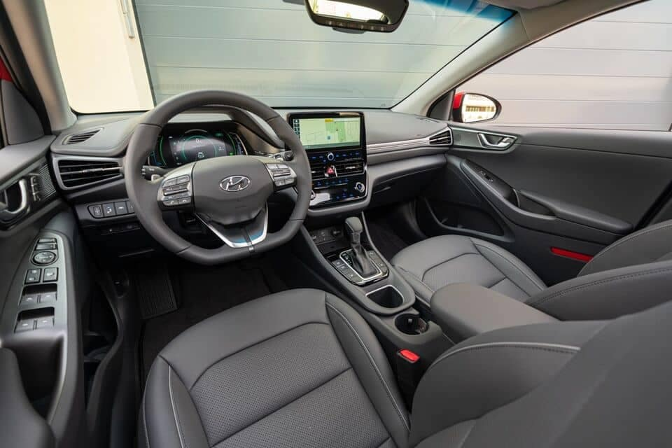 2021 IONIQ Hybrid interior