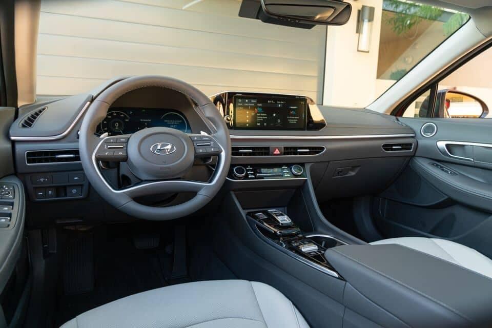 2021 Sonata interior