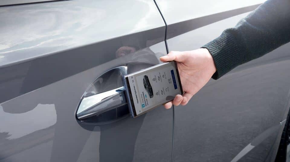 2021 Sonata smartphone keyless entry
