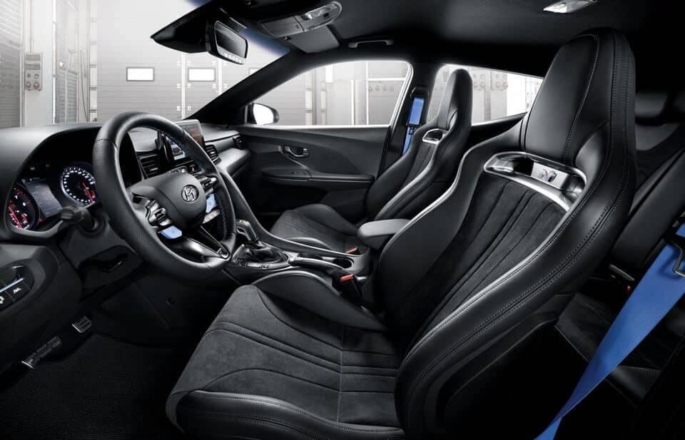2021 Veloster N interior