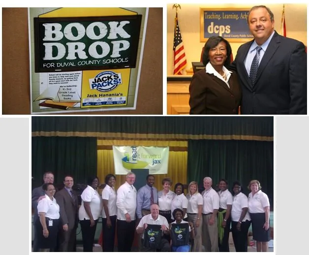 Book Donations for Duval County Public Schools