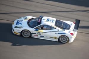 Danny Baker Races in Ferrari Challenge World Finals