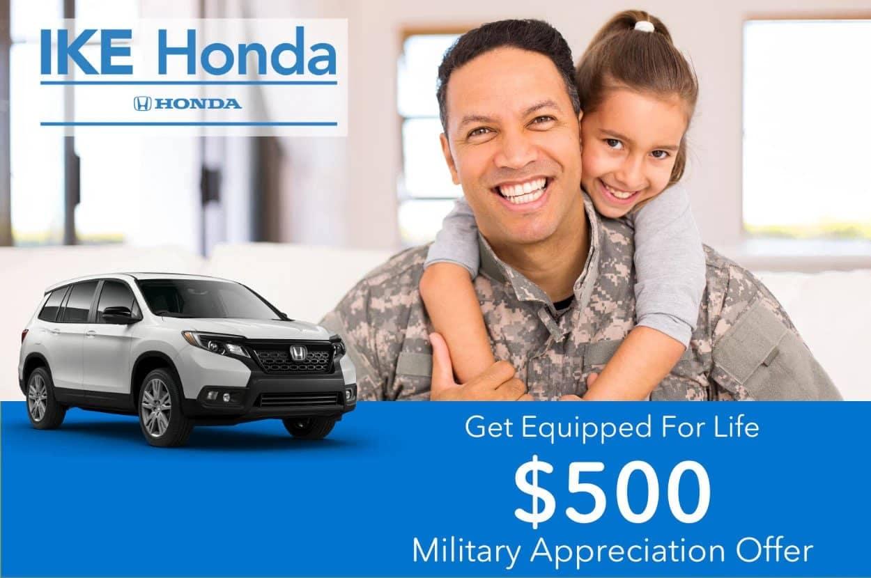 Ike-Honda-Military