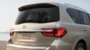 rear of qx80