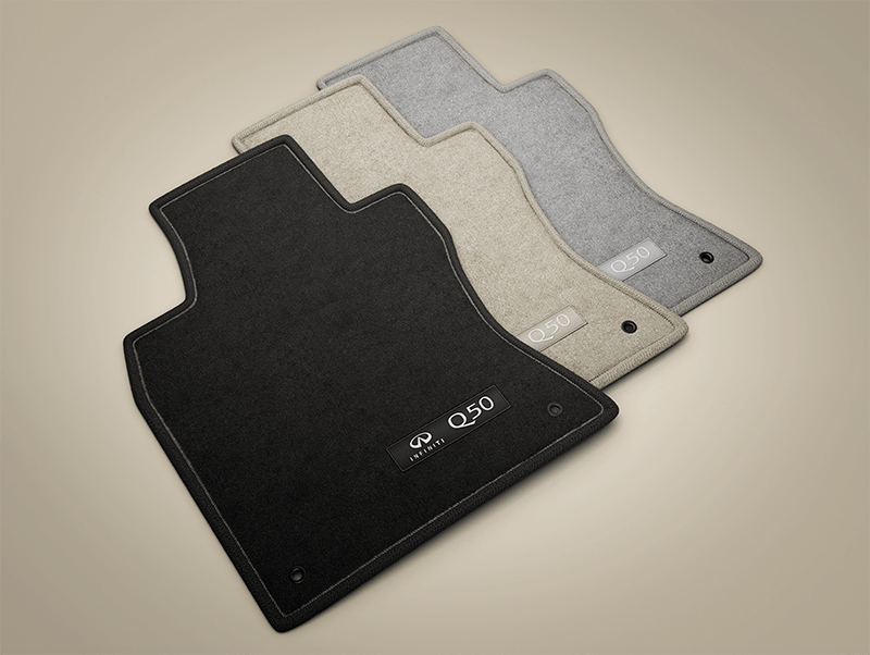 CARPET Q50 FLOOR MATS