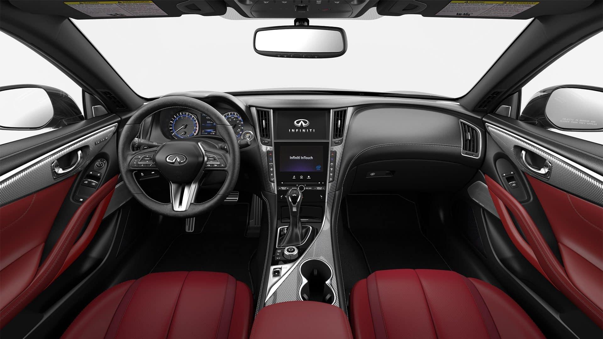 2019-infiniti-q60-coupe-red-interior