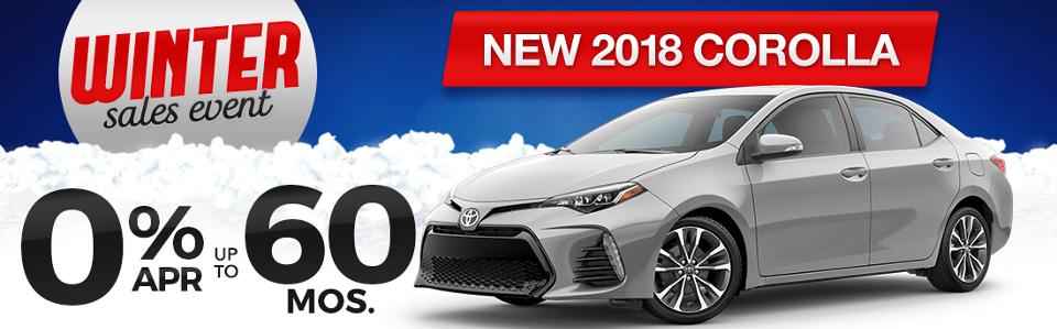 Toyota Corolla Finance Special