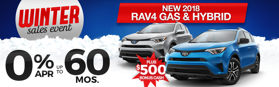 Toyota RAV4 Finance Special