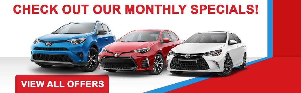 toyota new vehicle specials