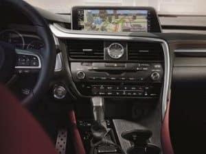 Lexus RX 350 Technology