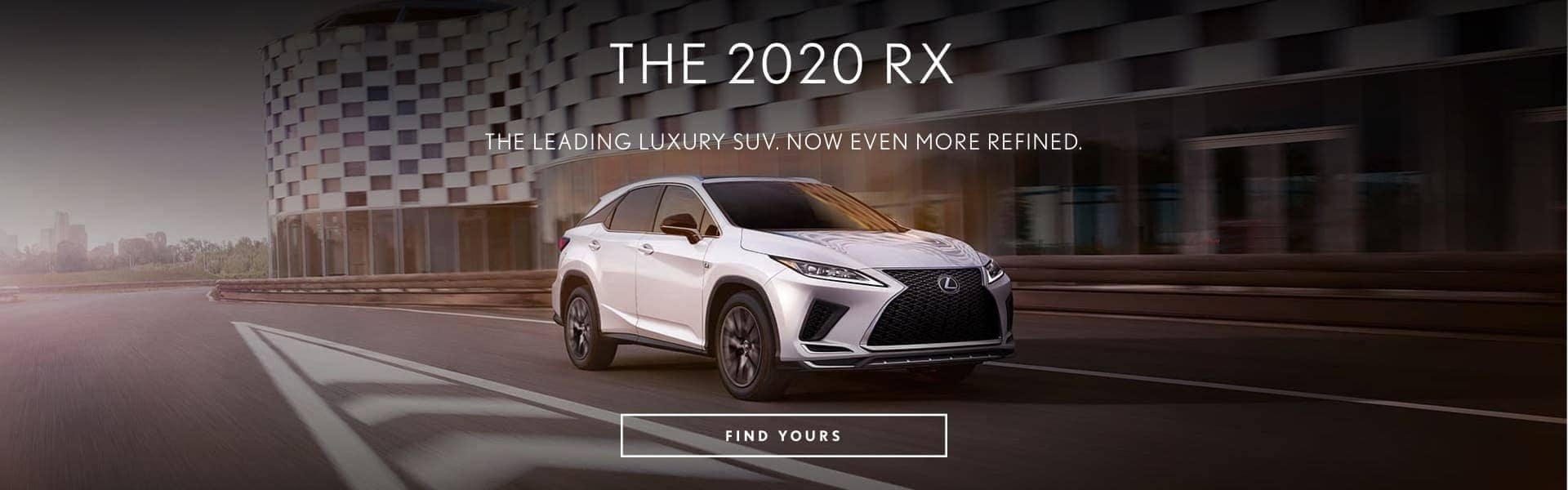 The 2020 RX