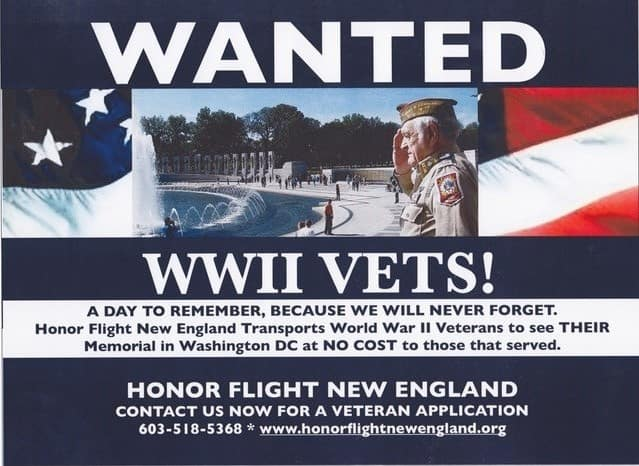 Danvers, MA | Honor Flight Partnership