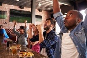 People at Sports Bar