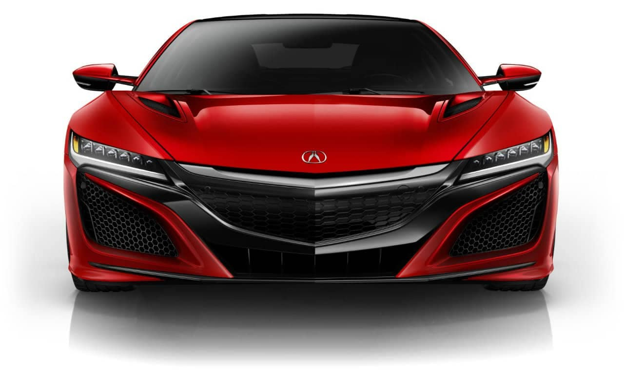 2017 Acura NSX Curva Red